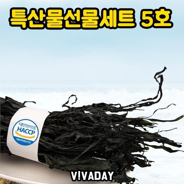 [DHD] 특산물 선물세트 5호 미역100gx10개입