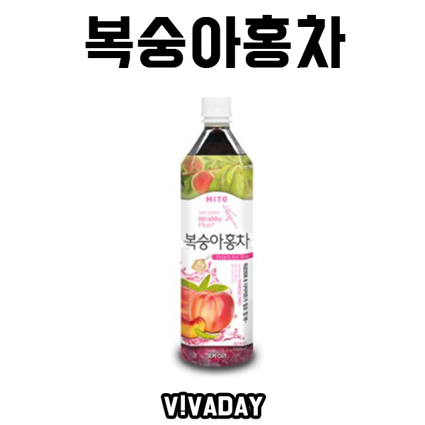[ANY] 복숭아홍차 음료베이스 농축액 1020ml